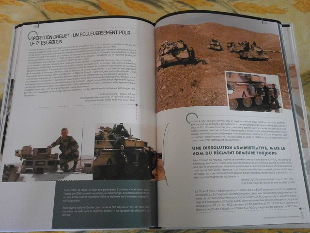 Theme de collection le  501 Regiment de char de combat  - Page 2 Livre159