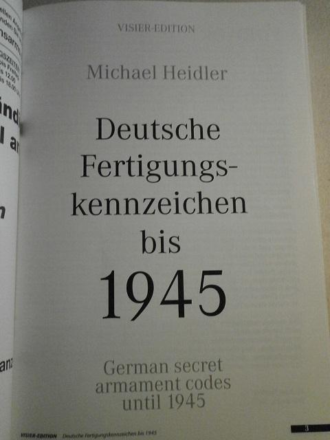 Livre deutsche fertigunskennzeichen de Michael Heider Livre_22