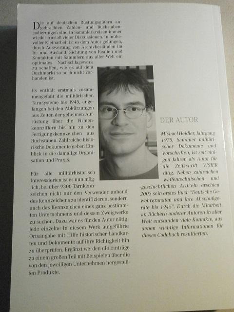 Livre deutsche fertigunskennzeichen de Michael Heider Livre_26