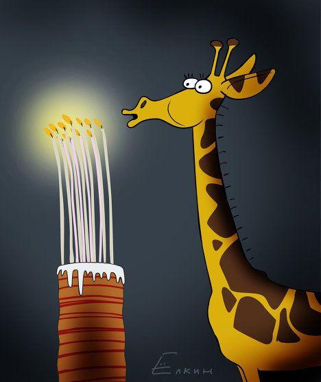 une bougie pour giraffon  Giraff10