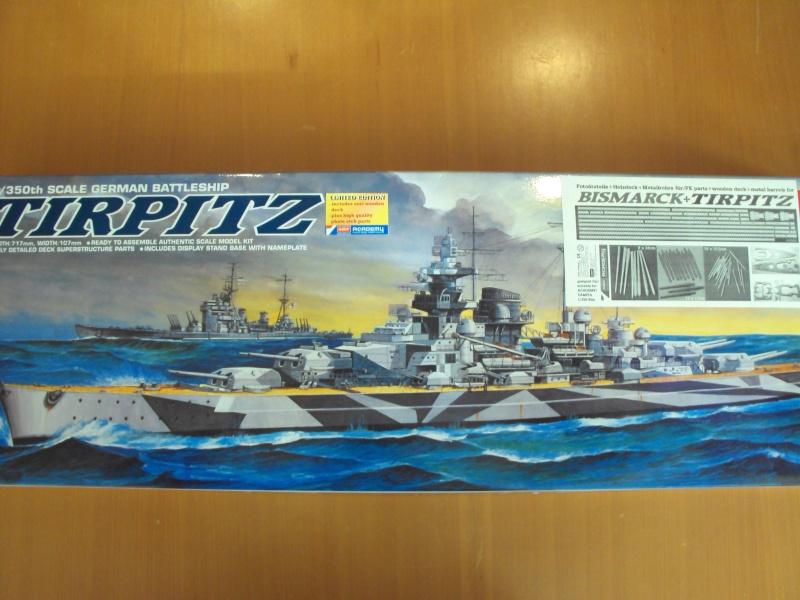 Academy Tirpitz Limited Edition in 1:350 Bau_de12