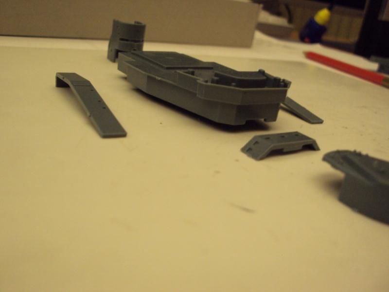 Academy Tirpitz Limited Edition in 1:350 Bau_de27