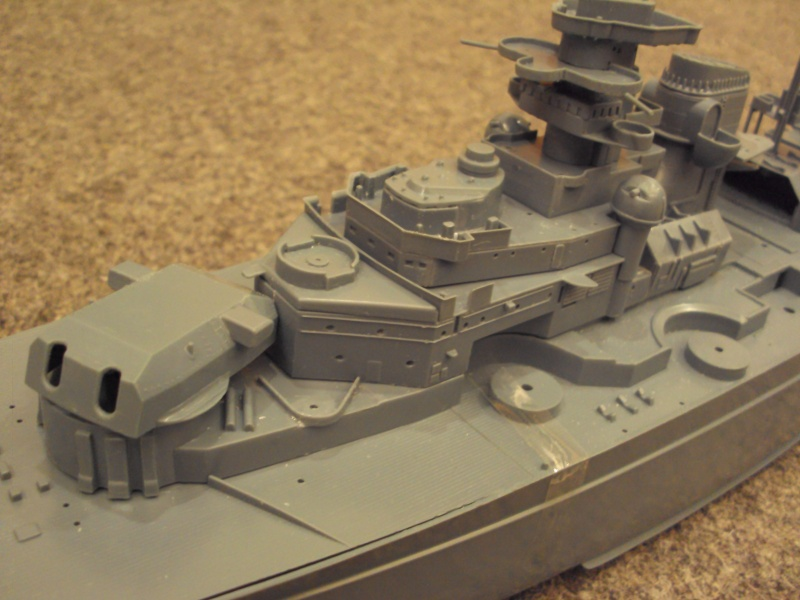 Academy Tirpitz Limited Edition in 1:350 Bau_de35