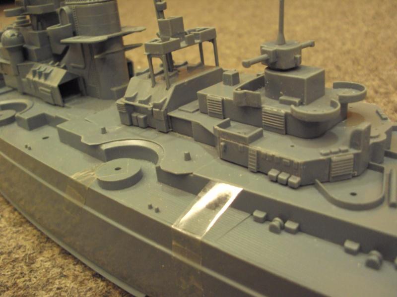Academy Tirpitz Limited Edition in 1:350 Bau_de36
