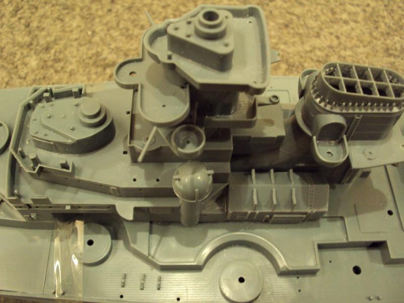Academy Tirpitz Limited Edition in 1:350 Bau_de39