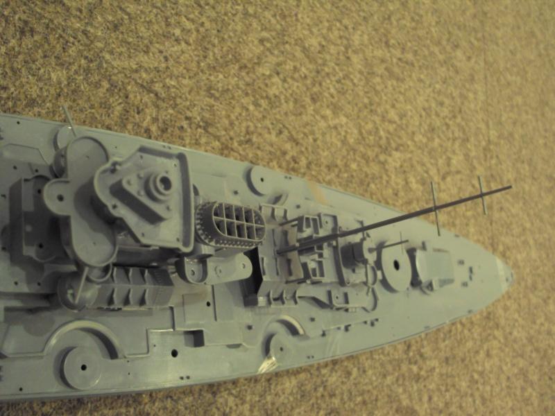 Academy Tirpitz Limited Edition in 1:350 Bau_de40