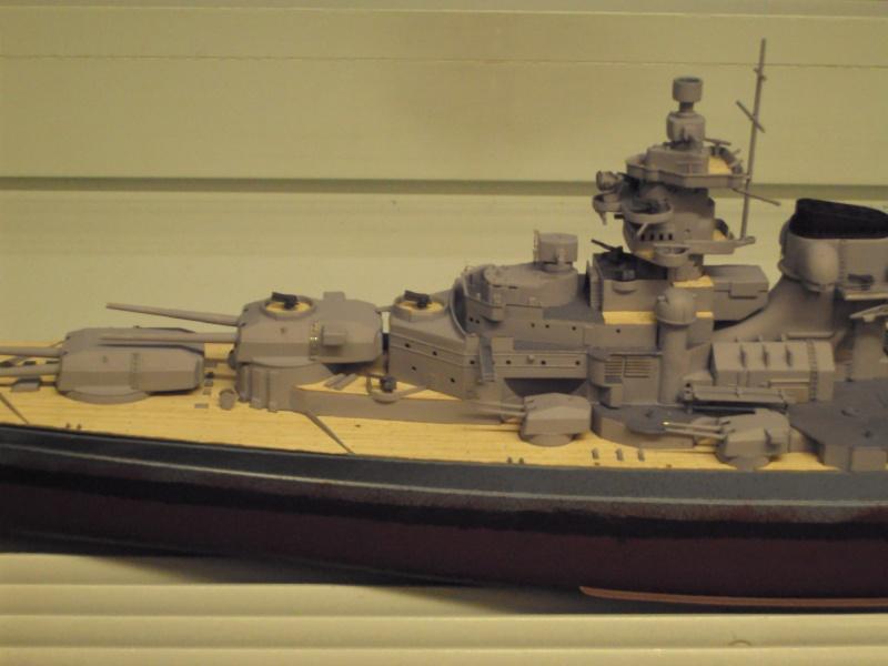 Academy Tirpitz Limited Edition in 1:350 Bau_de44