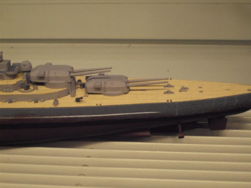 Academy Tirpitz Limited Edition in 1:350 Bau_de46