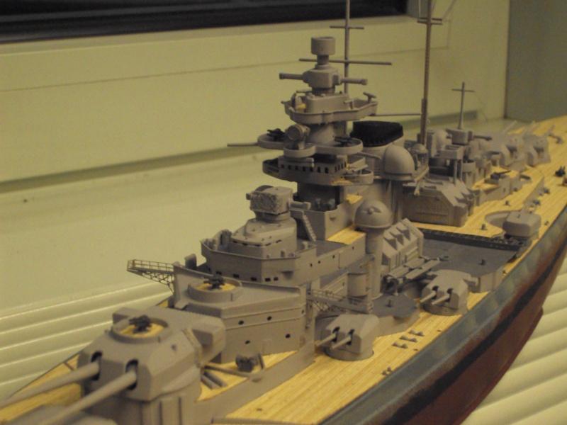 Academy Tirpitz Limited Edition in 1:350 Bau_de47