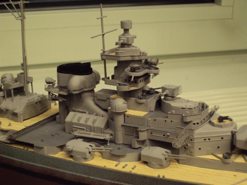 Academy Tirpitz Limited Edition in 1:350 Bau_de48
