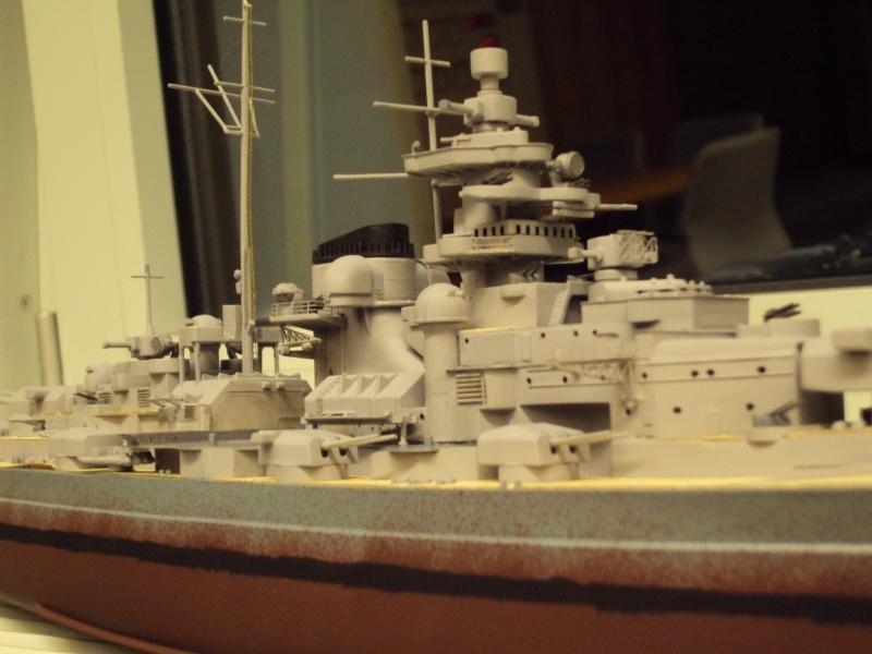 Academy Tirpitz Limited Edition in 1:350 Bau_de50