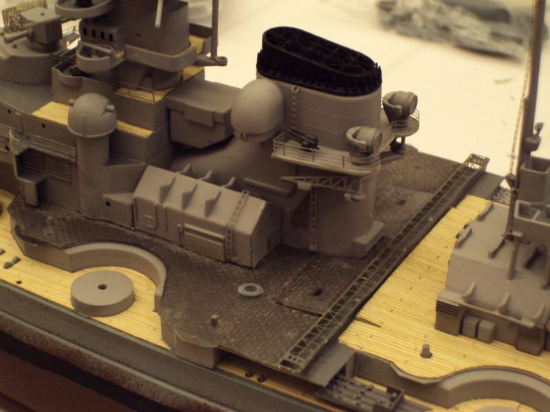 Academy Tirpitz Limited Edition in 1:350 Bau_de54