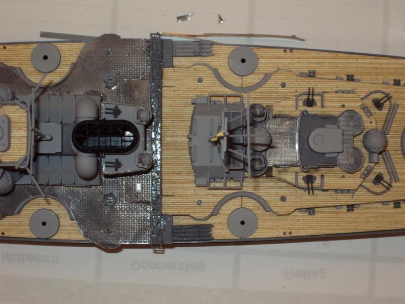 Academy Tirpitz Limited Edition in 1:350 Bau_de56