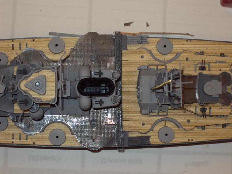 Academy Tirpitz Limited Edition in 1:350 Bau_de57