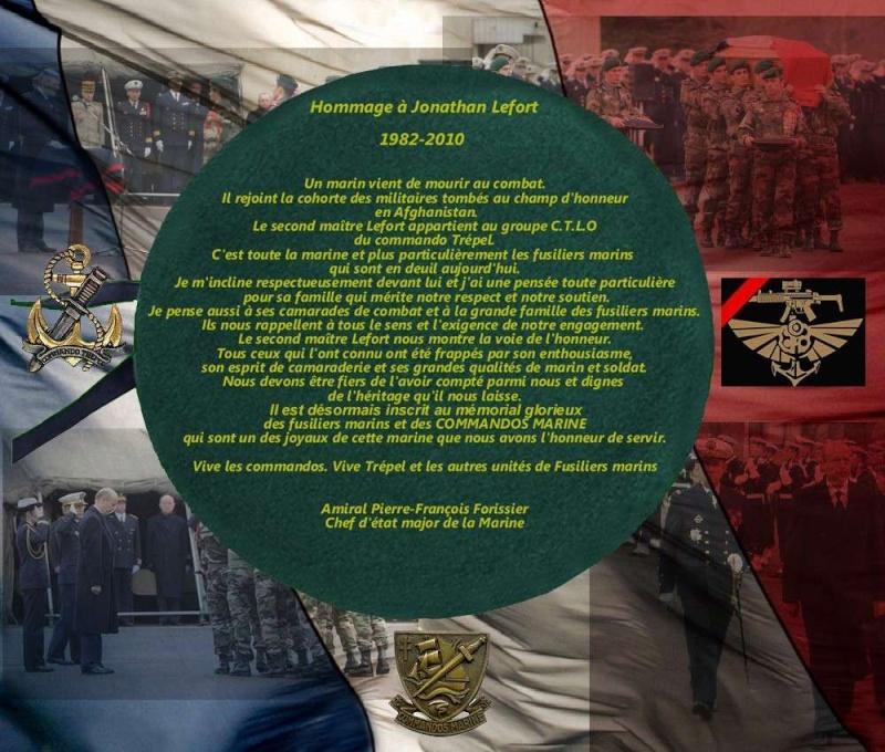 LEFORT Jonathan second-maître commando Trépel en Afghanistan 26 décembre 2010 Lefort10