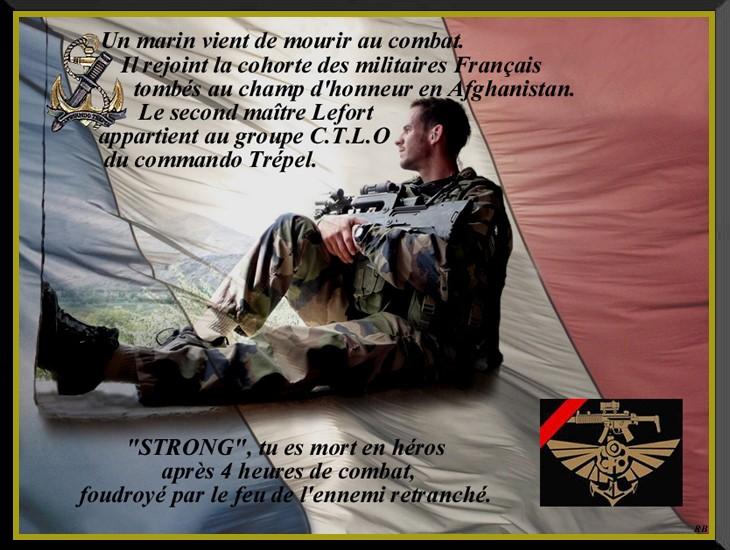 LEFORT Jonathan second-maître commando Trépel en Afghanistan 26 décembre 2010 Lefort11