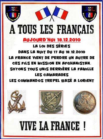 LEFORT Jonathan second-maître commando Trépel en Afghanistan 26 décembre 2010 Lefort12