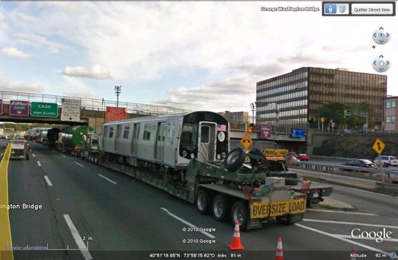STREET VIEW : les Enormes Ou Drole Poids Lourds Et Convoi exeptionels  Convoi10