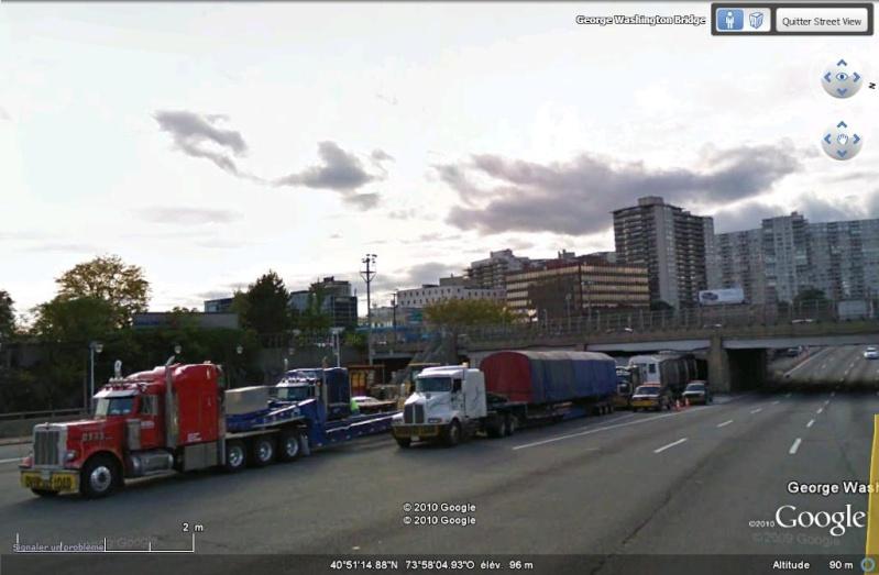 STREET VIEW : les Enormes Ou Drole Poids Lourds Et Convoi exeptionels  Convoi14