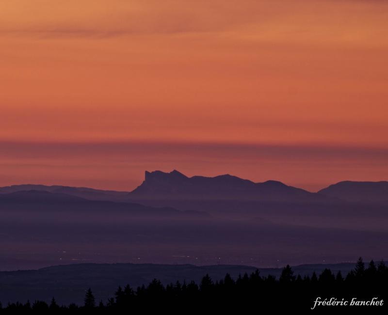un lever de soleil sur le Pilat Montag10