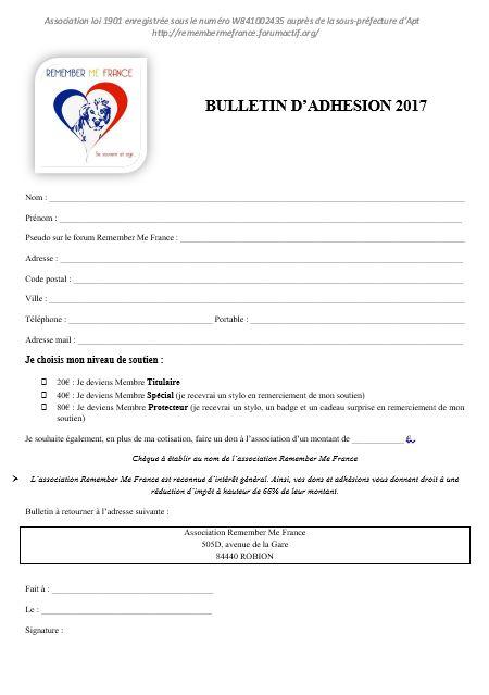 Bulletin d'adhésion 2017 117