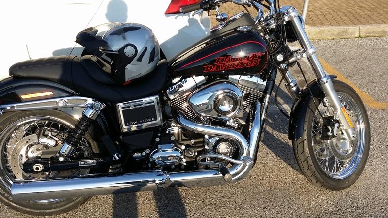 """il mio """"Landini"""" ... ovvero la mia Low Rider Harley11"""