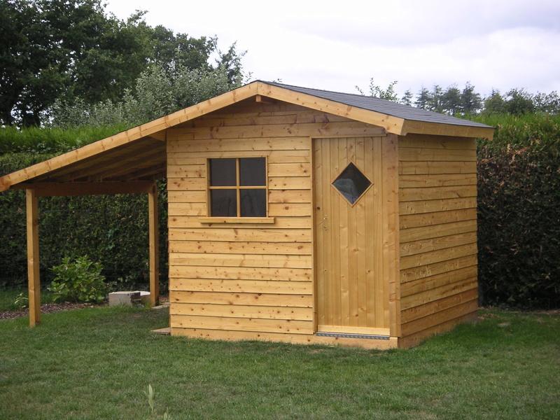 Local technique moins de 5m² en bois. Rycupy15