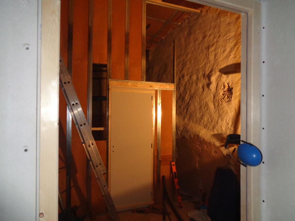 créer une porte dans une cloison en placo Dsc05910