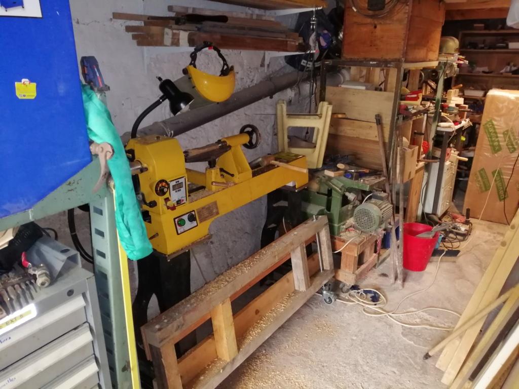 [VENDU] Tour à bois Maison du tournage MDT01 Img_2080