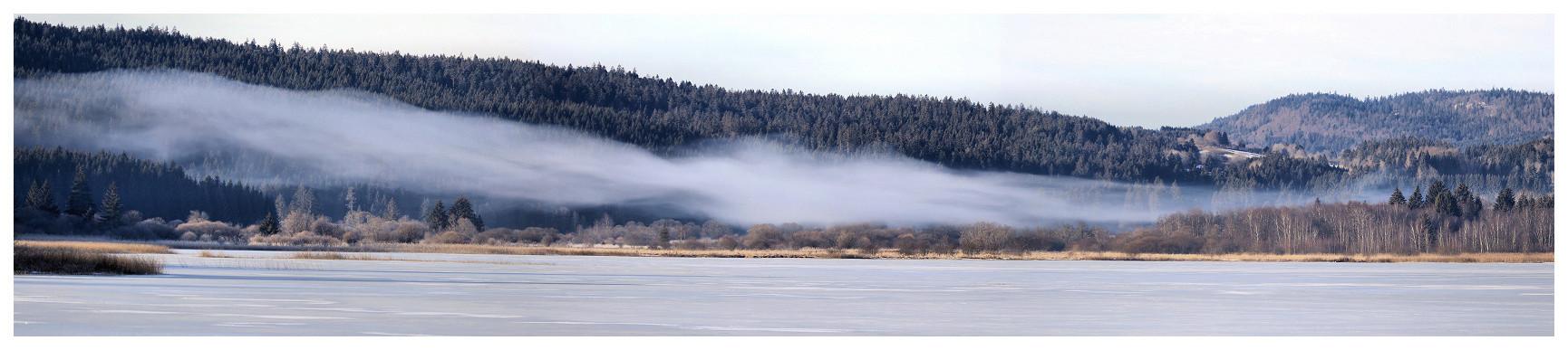 Lac de Remoray au petit matin Panore12