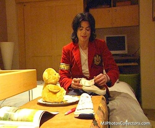 Michael And The Teddy Bear Michae11