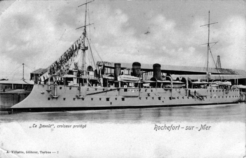 Croiseurs français  - Page 4 Davout11