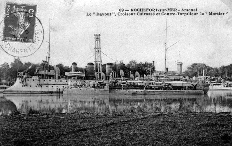 Croiseurs français  - Page 4 Davout12