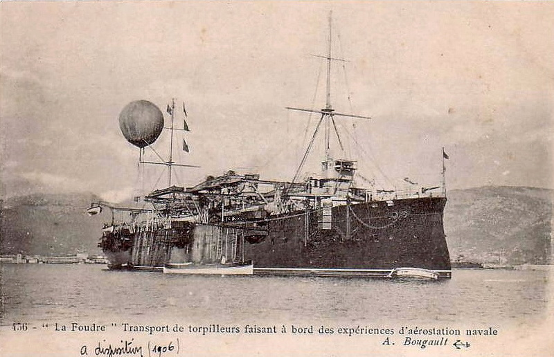 Croiseurs français  - Page 5 Foudre11