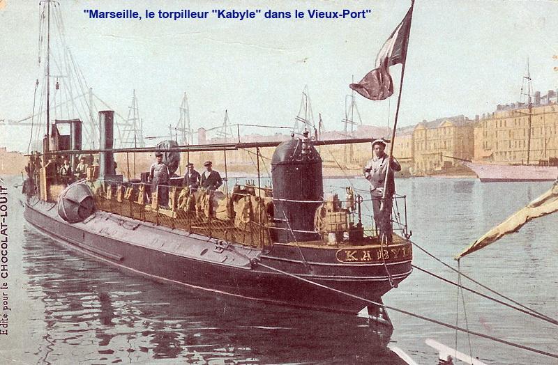 Les torpilleurs français Kabyle10