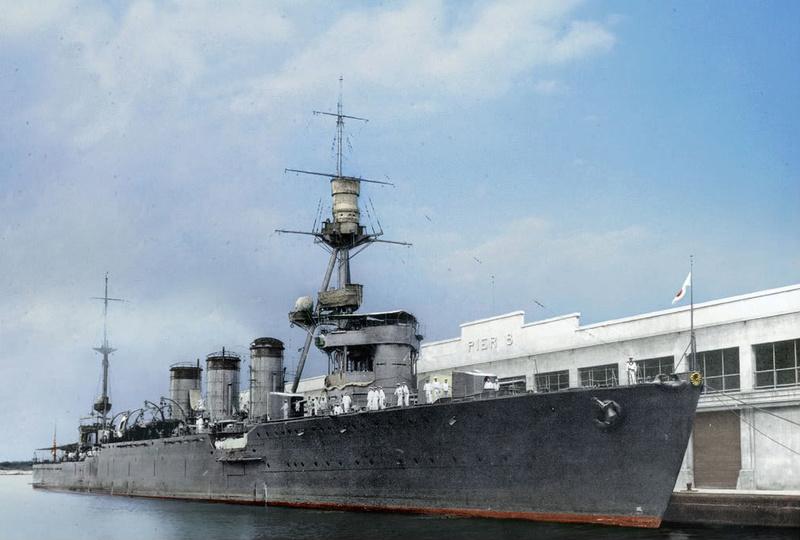 Croiseurs japonais - Page 4 Tama_h10