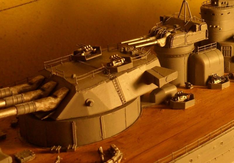 Cuirassé Yamato Tamiya 1/350 Sam_0610