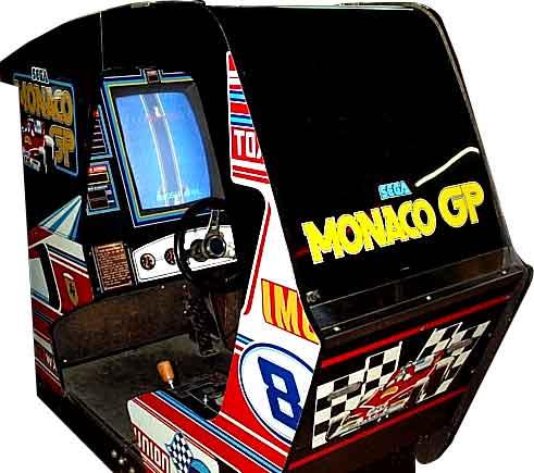 Sim racing pc  , dans une borne monaco gp reconstituée  Monaco10