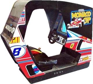 Sim racing pc  , dans une borne monaco gp reconstituée  Monaco11