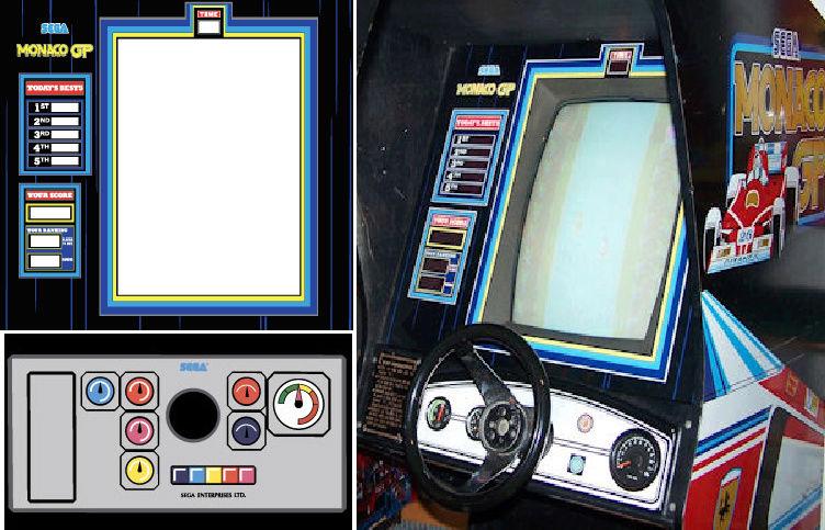Sim racing pc  , dans une borne monaco gp reconstituée  Photo_12