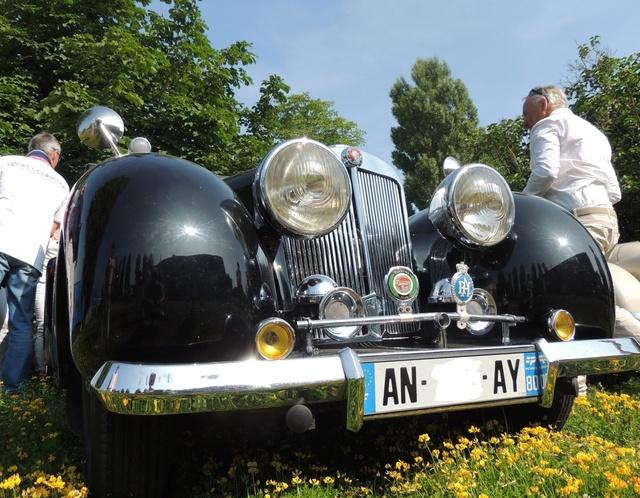Triumph 1800 Roadster 1948 - Rambouillet Dim 20 Nov 2016 Dscn2915