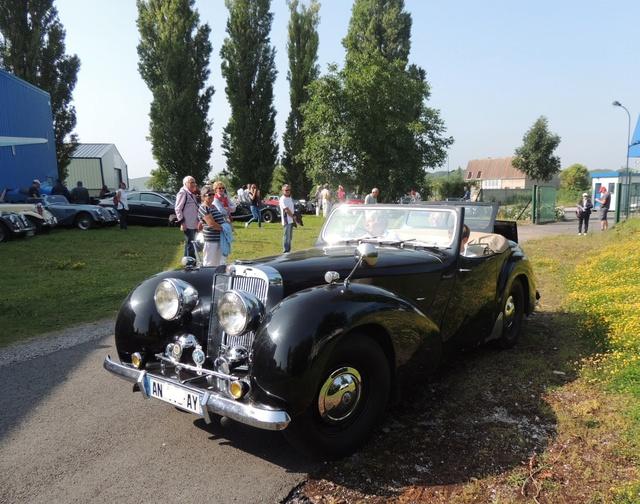 Triumph 1800 Roadster 1948 - Rambouillet Dim 20 Nov 2016 Dscn2916