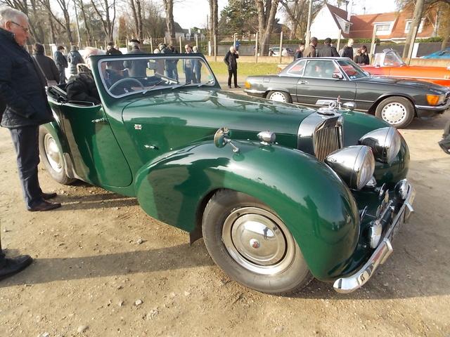 Triumph 1800 Roadster 1948 - Rambouillet Dim 20 Nov 2016 Triump13