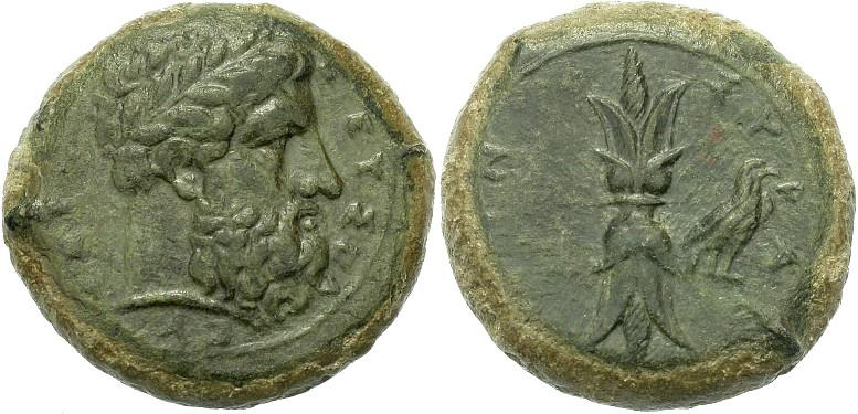 Fausses drachmes de Syracuse en bronze Fg28wd10