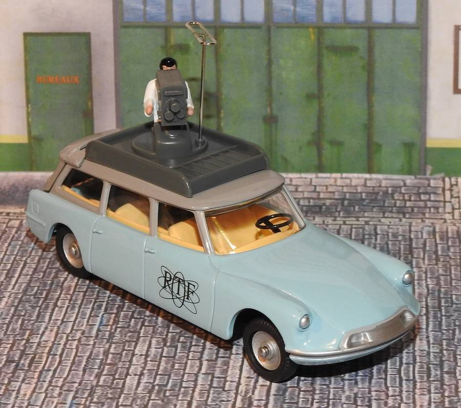 """Citroën miniatures > """"Véhicules de la presse, de la radio, de la télévision et du cinéma""""  Idortf10"""
