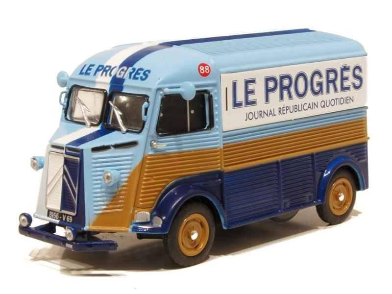"""Citroën miniatures > """"Véhicules de la presse, de la radio, de la télévision et du cinéma""""  Progrz10"""
