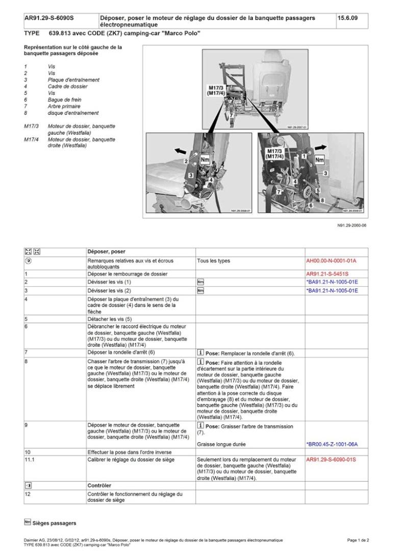 moteurs banquettes Dapose10