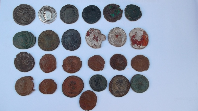 [VENDU] Lot de 25 monnaies romaines  Sam_0620