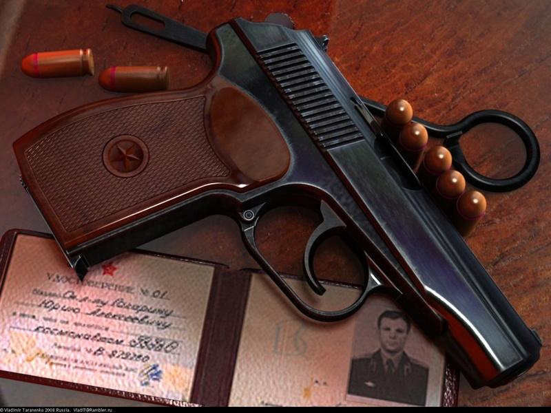 Makarov / Пистолет Макарова Gagari10