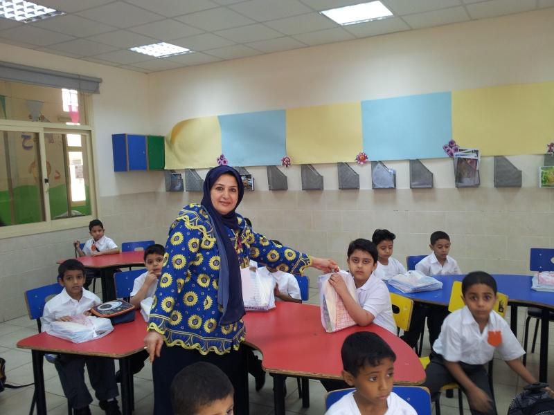 استقبال الصف الاول في العام الدراسي 2012 / 2013 20120911